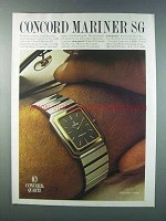 1981 Concord Mariner SG Watch Ad