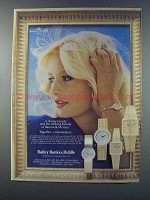 1981 Baume & Mercier Watches Ad - Classic Beauty