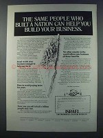 1981 Israel Investment Authority Ad - Built a Nation