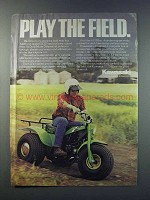 1981 Kawasaki KLT200 Ad - Play The Field