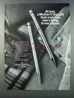 1981 Sheaffer Pens Ad - Mother's Day Gift