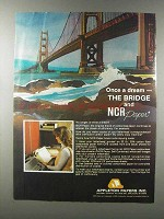 1981 NCR Paper Ad - Once a Dream - The Bridge