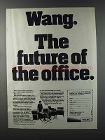 1981 Wang Integrated Information Systems Ad - Future