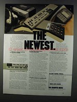 1981 The Sharper Image Ad - Casio VL-Tone, CA-90 Watch