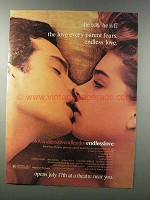 1981 Endless Love Movie Ad - Brooke Shields, M. Hewitt