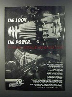 1981 K&N Air Filters Ad - The Look The Power