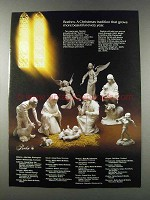1981 Boehm Holy Family & Neapolitan Angel Set Ad