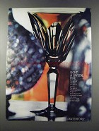 1981 Waterford Sheila Crystal Glass Ad - Light a Fire
