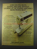 1981 Singer Touch-Tronic 2001 Memory Machine Ad
