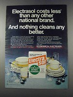 1981 Electrasol Detergent Ad - Costs Less Than Other