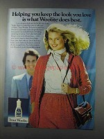 1981 Woolite Cold Water Wash Ad - Look You Love