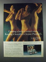 1981 Lancome Methode Jeanne Piaubert Ad - Creating Body