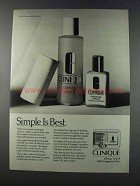 1981 Clinique Ad - Clarifying Lotion 2