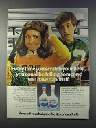 1981 Head & Shoulders Shampoo Ad - Scratch Your Head