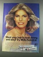 1981 Wella Kolestral Ad - Marjorie Wallace - Strong & Sexy