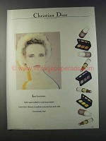 1981 Christian Dior Makeup Ad - Les Scarabees