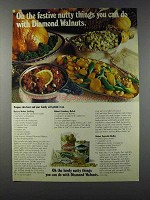 1981 Diamond Walnuts Ad - Buttery Walnut Stuffing