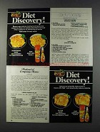 1981 Pam Spray Ad - Diet Discovery