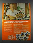 1981 French's Brown Gravy Mix Ad - Honey Pork Oriental