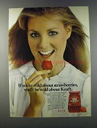 1981 Kraft Strawberry Preserves Ad - If You're Wild
