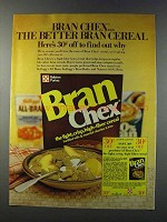 1981 Ralston Bran Chex Cereal Ad - The Better Bran