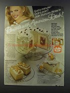 1981 Duncan Hines Cake Mix Ad - Snow Tunnel Cake