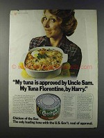 1981 Chicken of the Sea Tuna Ad - Tuna Florentine