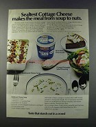 1981 Sealtest Cottage Cheese Ad - Makes the Meal