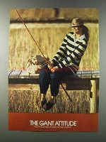 1981 Gant Fashion Ad - The Attitude