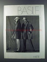 1981 Hattie Basile Fashion Ad