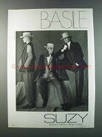 1981 Suzy Ad - Basile Fashion