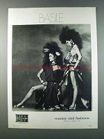1981 Theodore Country Club Fashions Ad - Basile