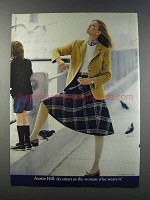 1981 Evan-Picone Austin Hill Fashion Ad - As Smart As