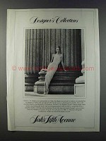 1981 Saks Fifth Avenue Halston Cocoon of Rayon Ad