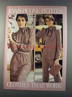 1981 Evan-Picone Petites Fashion Ad