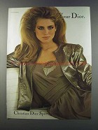 1981 Christian Dior Sportswear Ad - Your Dior