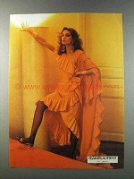 1981 Saint Laurent Advertisement - Women's Fashion