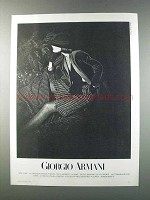 1981 Giorgio Armani Ad - Women's Fashion