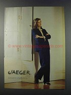 1981 Jaeger of London Fashion Ad