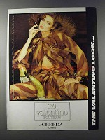 1981 Valentino Boutique at Creeds Fashion Ad