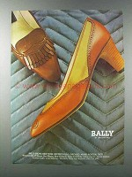1981 Bally of Switzerland Shoes Ad