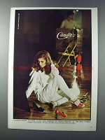 1981 Candie's Shoes Ad - Leather Pumps and Sandals
