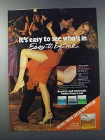 1981 Easy to Be Me Pantyhose Ad - It's Easy to See