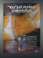 1981 Formfit You Panties and Bras Ad - A Revolution