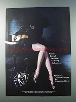 1981 Givenchy Limoges Round-the-Clock Pantyhose Ad