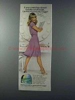 1981 L'eggs Control Top Pantyhose Ad - Barbara Eden