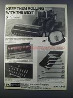 1981 S-K Tools Ad - Drive Socket, Wrench Set