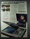 1981 Pioneer LaserDisc Player & 50 Projection TV Ad