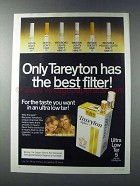 1981 Tareyton Cigarettes Ad - Has the Best Filter