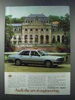 1981 Audi 5000 Turbo Ad - 50 Years Front-Wheel Drive